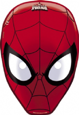 6 Spiderman Card Face Masks